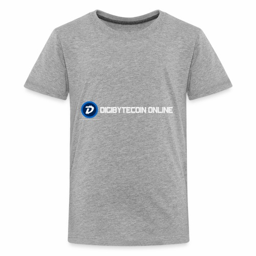 Digibyte online light - Kids' Premium T-Shirt