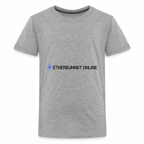 Ethereum Online light darkpng - Kids' Premium T-Shirt