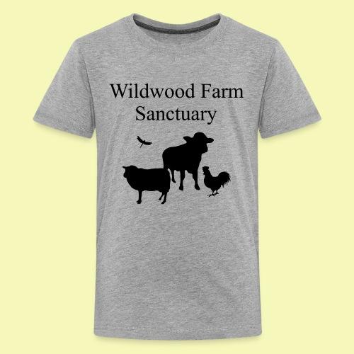Black Cow - Kids' Premium T-Shirt