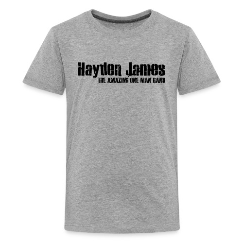 HJ Trans Logo Black 2018 - Kids' Premium T-Shirt