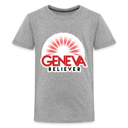 Logo - Vintage Iron-On Style - Kids' Premium T-Shirt