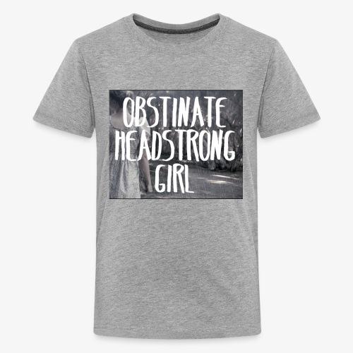 Obstinate Headstrong Girl - Kids' Premium T-Shirt