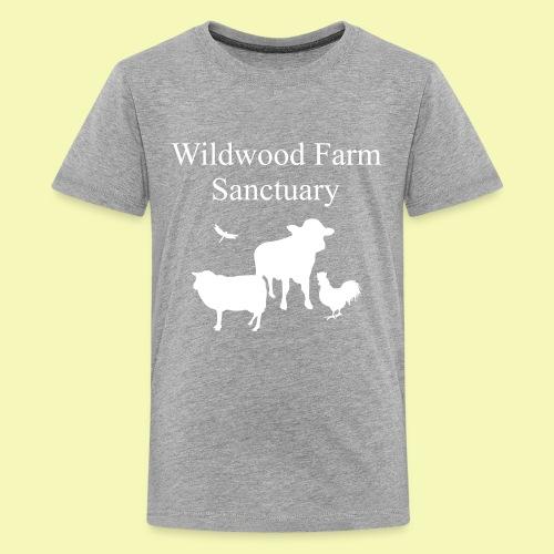 White Cow - Kids' Premium T-Shirt
