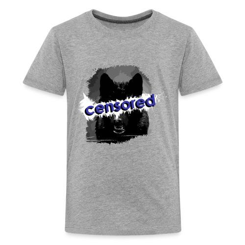 Wolf censored - Kids' Premium T-Shirt