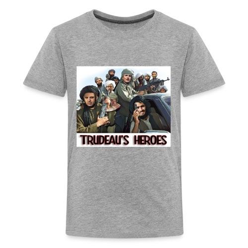 Trudeau's Heroes - Kids' Premium T-Shirt
