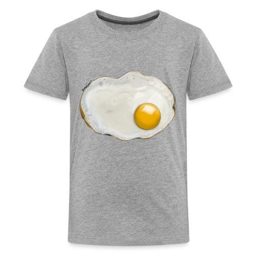 WHOISMNO - fried egg - Kids' Premium T-Shirt