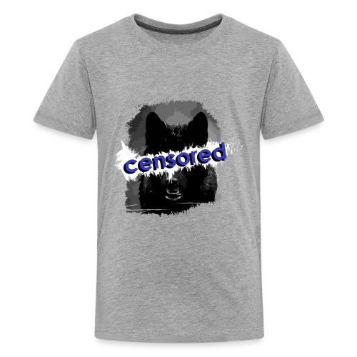Wolf censored - Kids' Premium T-Shirt