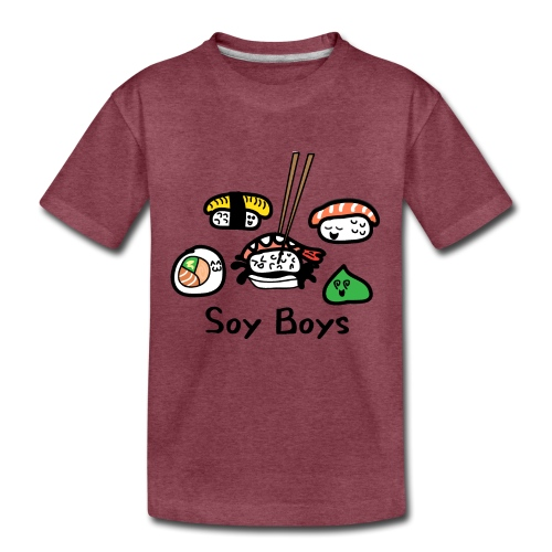 Soy Boys Kawaii Sushi - Anime / Manga Chibi Design - Kids' Premium T-Shirt