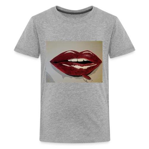 Hot Lips - Kids' Premium T-Shirt