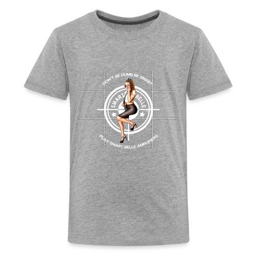 Smart Belle White Logo - Kids' Premium T-Shirt