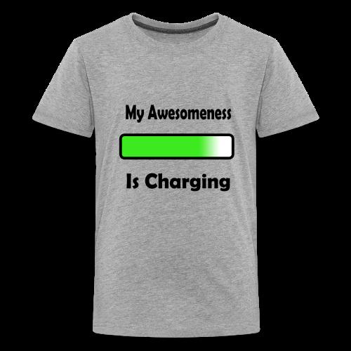 awesomenessgreen - Kids' Premium T-Shirt