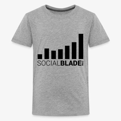 Socialblade (Dark) - Kids' Premium T-Shirt