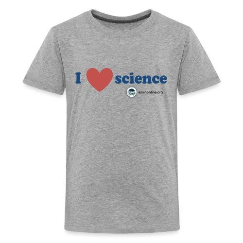 iheartscience - Kids' Premium T-Shirt