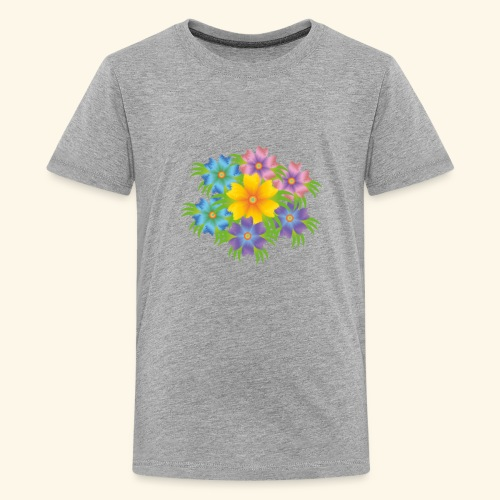 flower1 - Kids' Premium T-Shirt