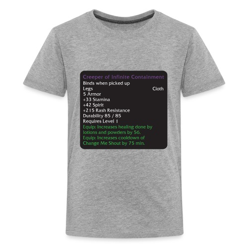 Warcraft Baby: Creeper of Infinite Containment - Kids' Premium T-Shirt