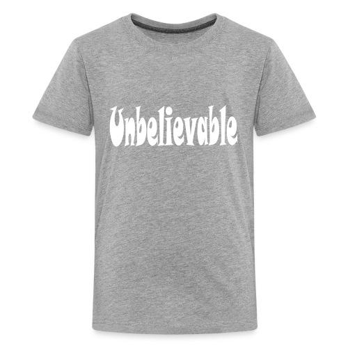 T-shirt (black) - Kids' Premium T-Shirt