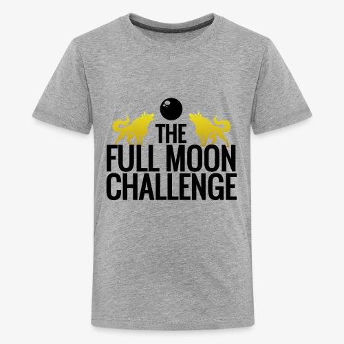 Full Moon Challenge Colour - Kids' Premium T-Shirt