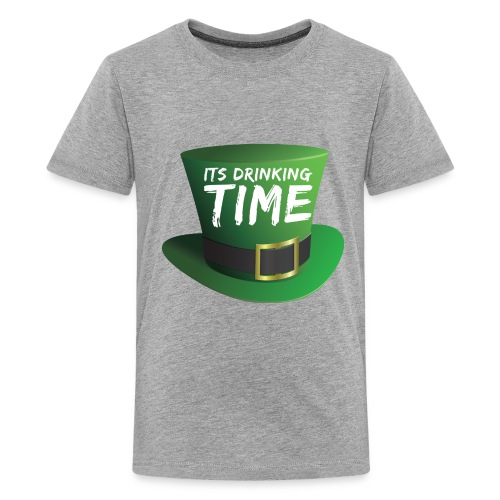 drinking time st patricks day - Kids' Premium T-Shirt