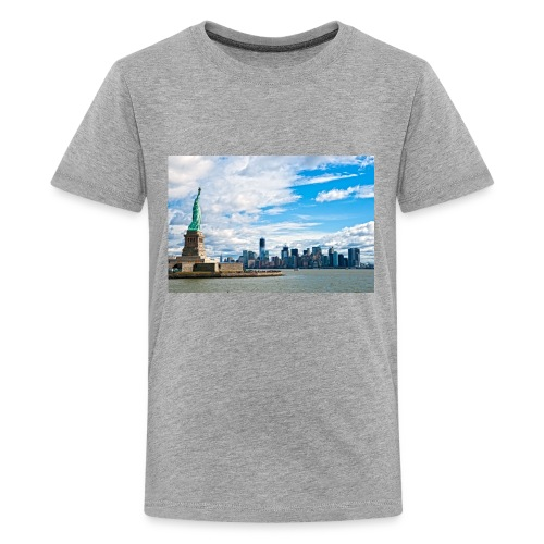 New York Skyline - Kids' Premium T-Shirt
