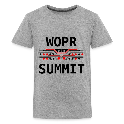 WOPR Summit 0x0 RB - Kids' Premium T-Shirt