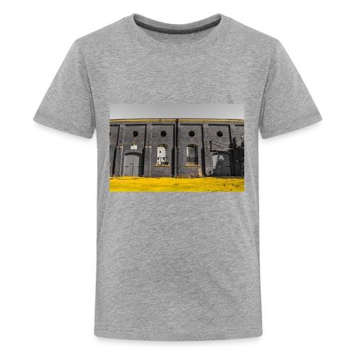 Bricks: who worked here - Kids' Premium T-Shirt