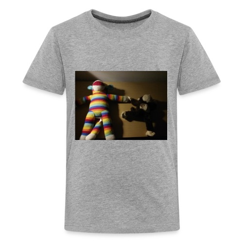 Monkey love - Kids' Premium T-Shirt