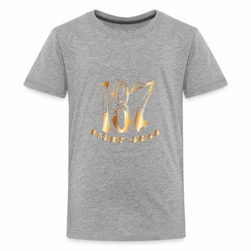 187 Fight Gear Gold Logo Sports Gear - Kids' Premium T-Shirt