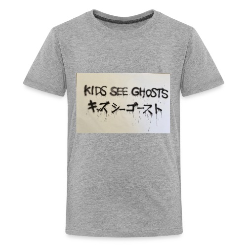Kids see ghosts design - Kids' Premium T-Shirt