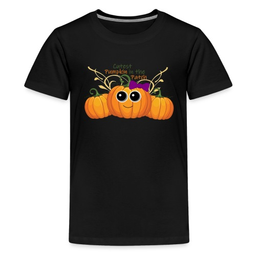 cutest pumpkin - Kids' Premium T-Shirt