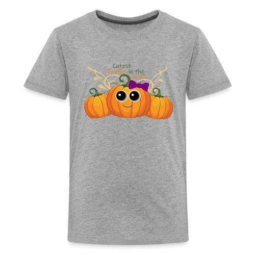 cutest pumpkin - Kids' Premium T-Shirt
