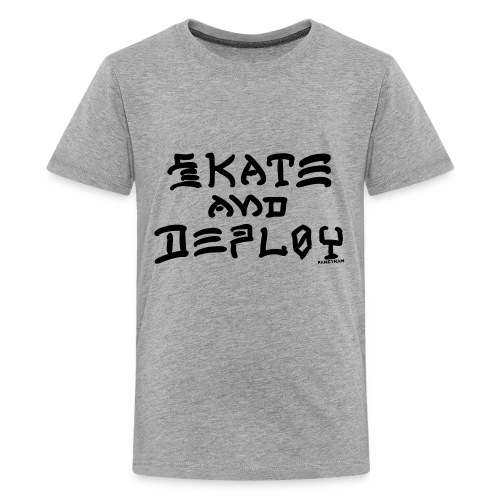 Skate and Deploy - Kids' Premium T-Shirt