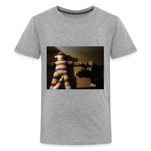 Monkey love - Kids' Premium T-Shirt