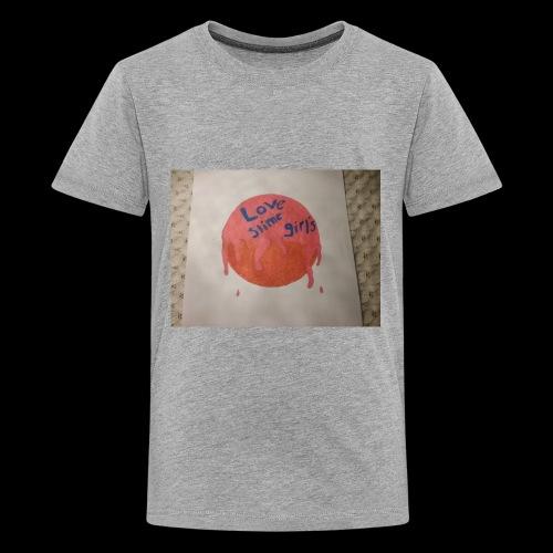Love slime girls - Kids' Premium T-Shirt