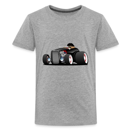 Classic Street Rod Hi Boy Roadster Cartoon - Kids' Premium T-Shirt