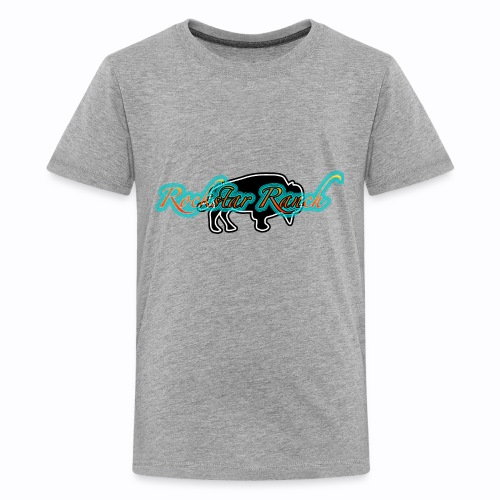 buffalo blacknturq - Kids' Premium T-Shirt