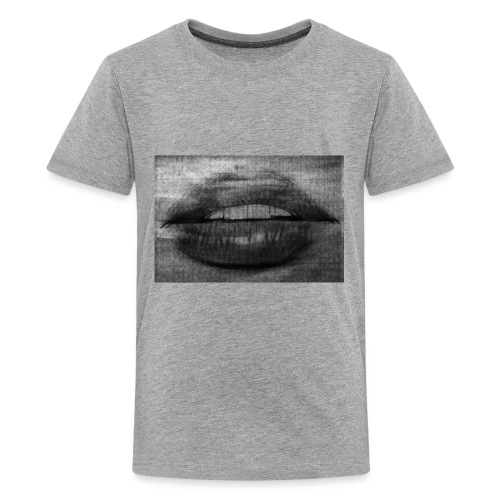Blurry Lips - Kids' Premium T-Shirt