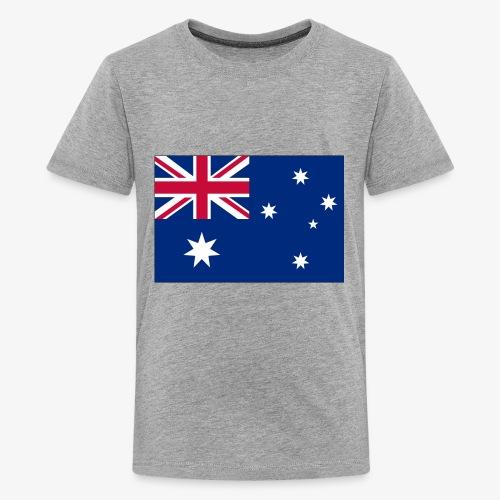 Bradys Auzzie prints - Kids' Premium T-Shirt