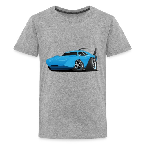 Classic American Winged Muscle Car Hot Rod - Kids' Premium T-Shirt