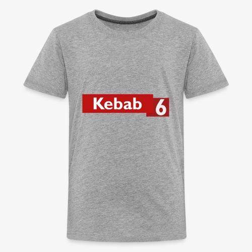 Kebab red logo - Kids' Premium T-Shirt