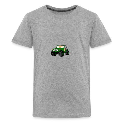 Happy Toy Jeep Green - Kids' Premium T-Shirt