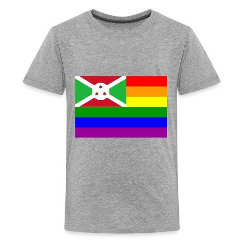 burundirainbowflag - Kids' Premium T-Shirt