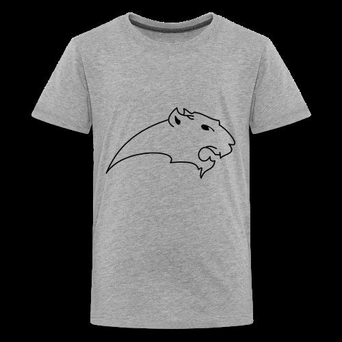 Scribble panther - Kids' Premium T-Shirt
