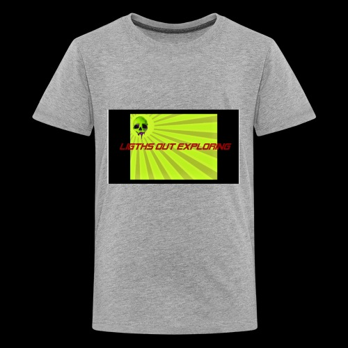 i love ligths out exploring - Kids' Premium T-Shirt