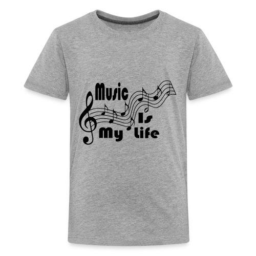 Music Is My Life - Kids' Premium T-Shirt