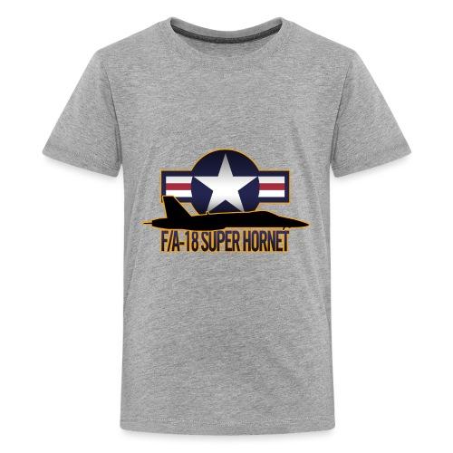 F/A-18 Super Hornet - Kids' Premium T-Shirt