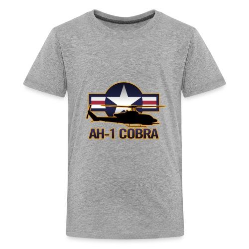 AH-1 Cobra Helicopter - Kids' Premium T-Shirt