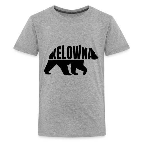 Kelowna Grizzly B&W - Kids' Premium T-Shirt