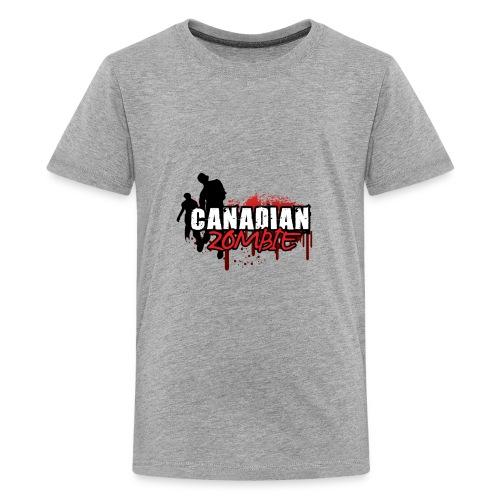 Canadian Zombie - Kids' Premium T-Shirt