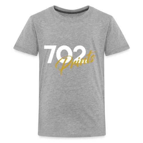 702 Prints Logo White - Kids' Premium T-Shirt