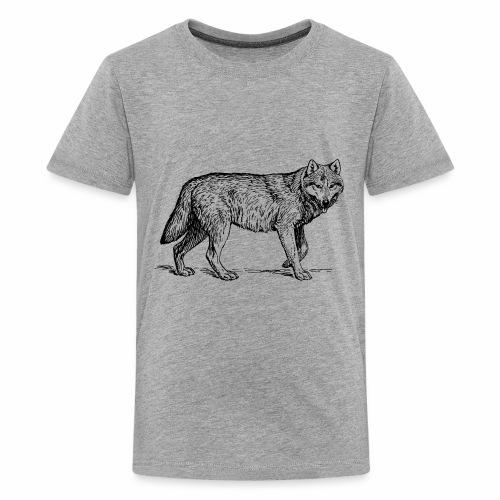wolf T-shirt/wolf accessories/wolf apparel - Kids' Premium T-Shirt